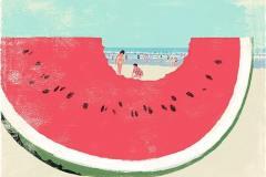 Татсуро Киучи. «На пляже»