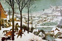 Питер Брейгель старший. «Охотники на снегу — январь»