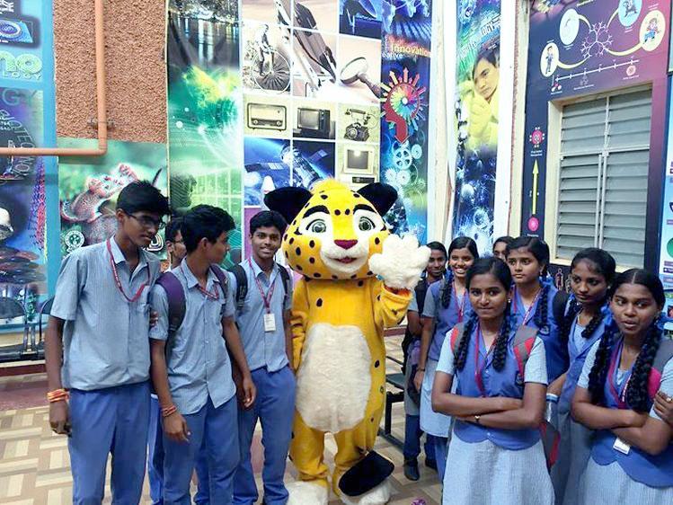 Ченнай Индия Russan Animation Festival Chennai