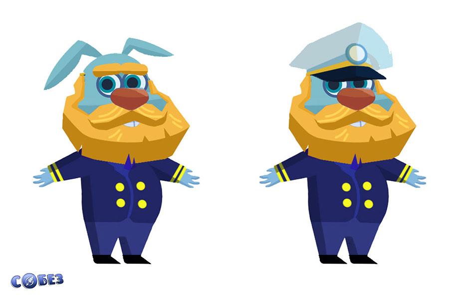 Концепт капитана корабля