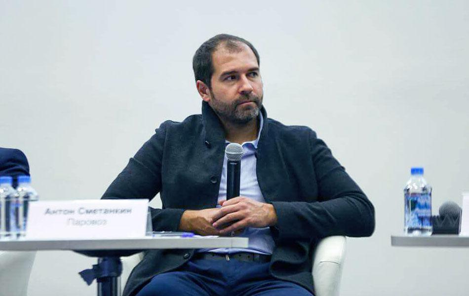 Антон Сметанкин — генеральный директор анимационной студии «Паровоз»