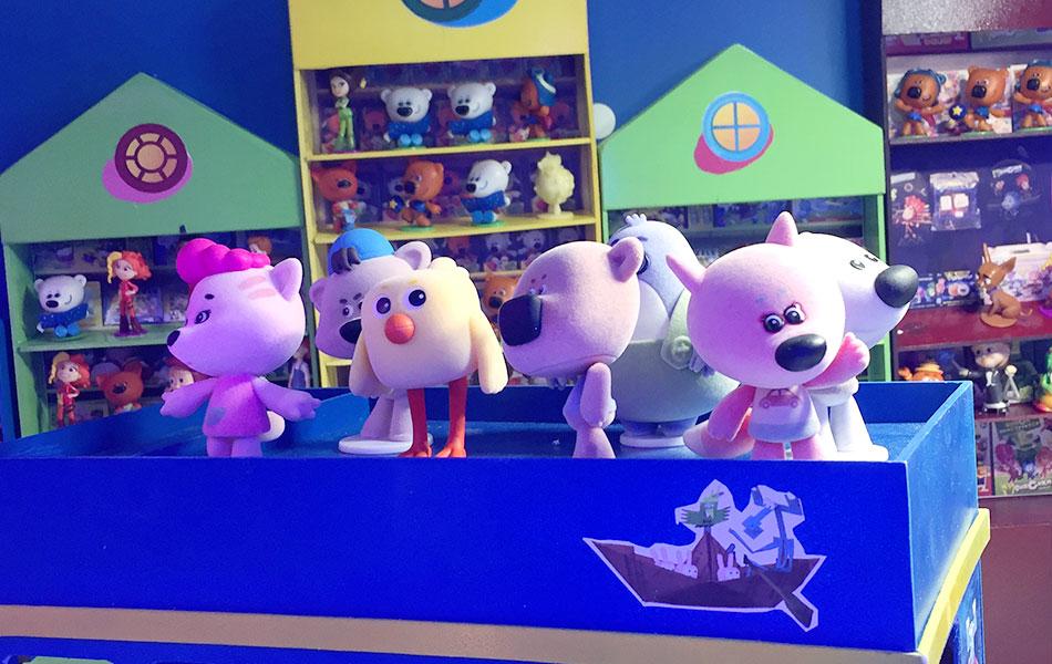 Игрушки из мультфильма «Ми-ми-мишки»