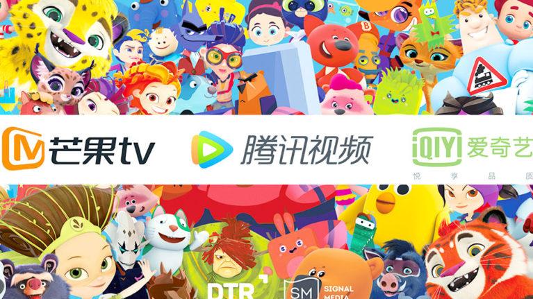 Топовые видеохостинги Китая покажут мультфильмы студии • Паровоз