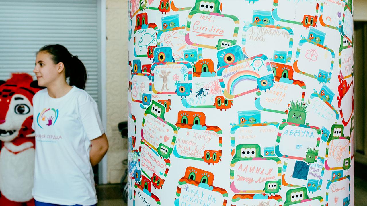 Фестиваль Паровоз в Великом Новгороде • Студия Паровоз • Стена посланий