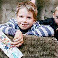 Фестиваль Паровоз в Великом Новгороде • Студия Паровоз • Дети на просмотре мультфильмов в кинотеатре
