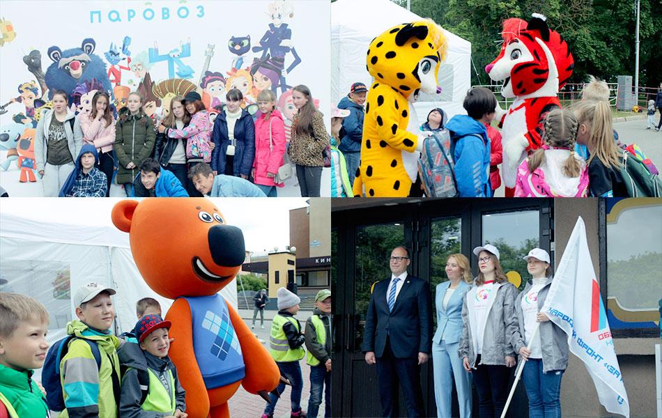 В Великом Новгороде проходит фестиваль детской анимации «Паровоз»