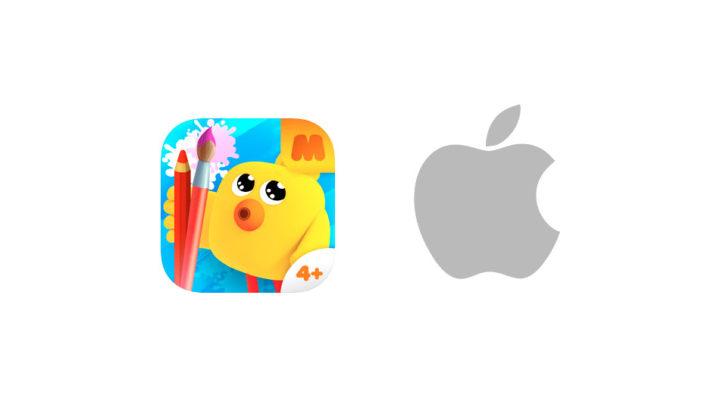 Официальные магазины Apple Store выбрали «Ми-ми-мишки: Рисование» для знакомства детей с техникой