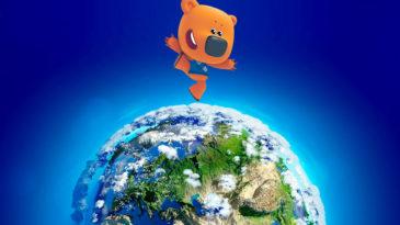 Мультсериалы студии «Паровоз» на карте мировых эфиров