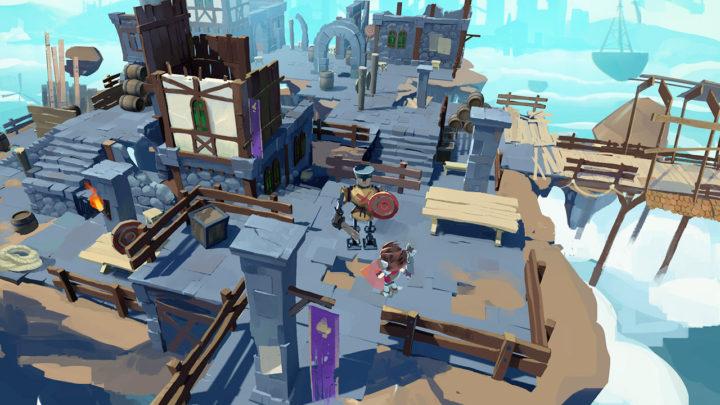 Концепт локации из мобильной игры «Герои Энвелла»