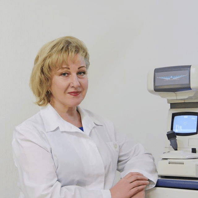 Любовь Волкова, детский врач-офтальмолог высшей категории, профессор, доктор медицинских наук
