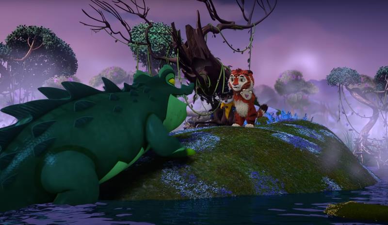 желаемый эффект крокодила • Лео и Тиг