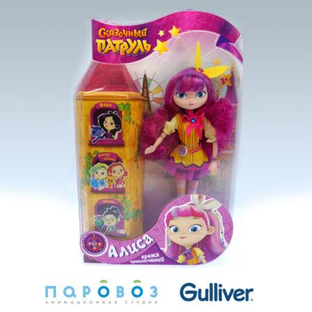Впродажу поступила кукла Алиса из«Сказочного патруля»