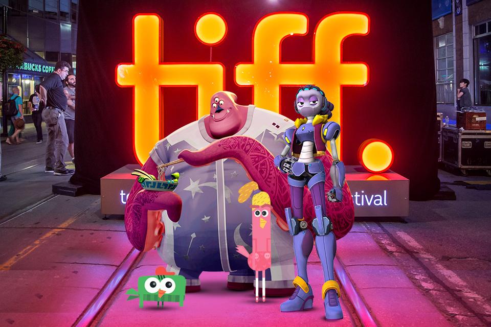Студия «Паровоз» представляет свои мультфильмы нарынке TIFF Industry