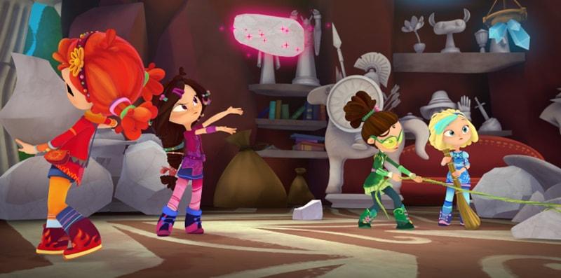 Итоговый кадр из 47-й серии мультсериала «Сказочный патруль»