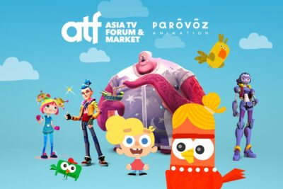 Студия «Паровоз» представит свои мультфильмы наAsia Television Forum