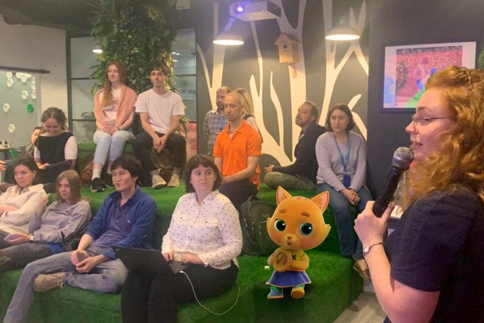 Ванимационном клубе «Паровоза» прошла вторая встреча