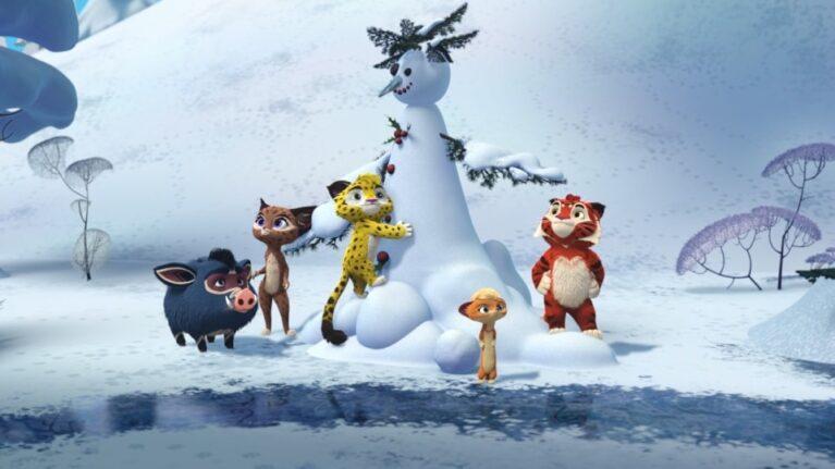 Новогодние серии мультфильмов студии «Паровоз»