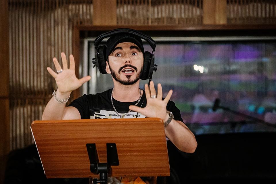 Меч Кладенец в мультфильме «Кощей. Начало» заговорил голосом Тимура Родригеза