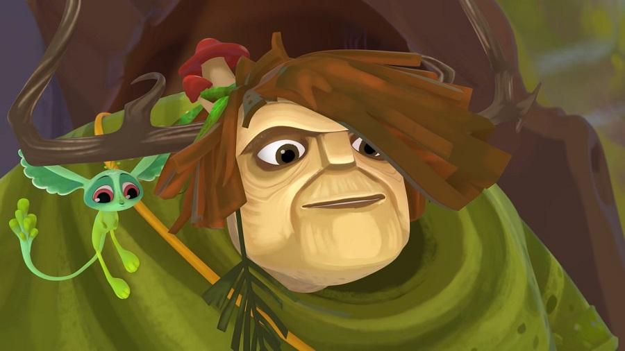 Персонаж сериала «Сказочный патруль» Леший— деликатный великан исказочный дух леса.