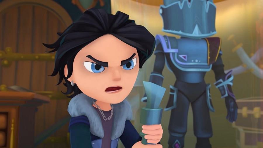 Персонаж сериала «Сказочный патруль» Морок (Влад) был представителем злых сил, антагонистом сериала дотех пор, пока незаключил союз сюными волшебницами